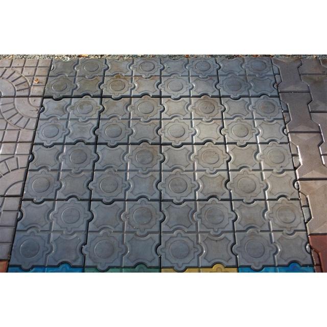 плитка тротуарная мозаика фото